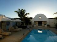 It looks like a Greek villa!