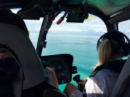 We took a helicopter to the Bazaruto Archipelago where we stayed at Azura
