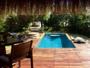 Our beach bungalow at Azura