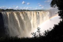 'The Smoke that Thunders'- Victoria Falls